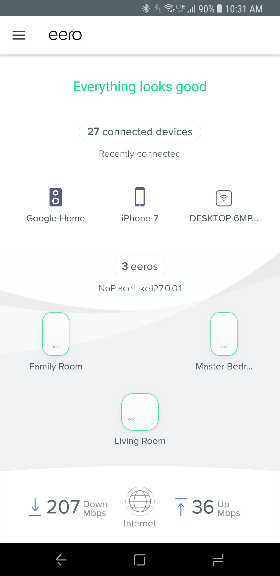 Eero 2nd Gen Review Better Looks And Even Performance Wireless Home Network Diagram Simple Based On My Experience In Own Four Bedroom 2500 Square Foot The New Performs Just As Well Prior Version Blanketing With A