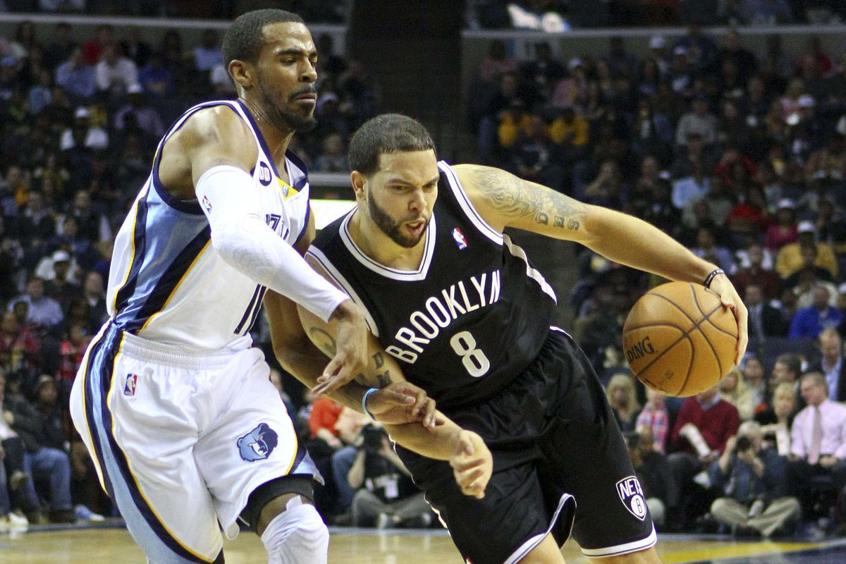 Mike Conley will have to take advantage of a weakened Deron Williams for Memphis to win tonight.
