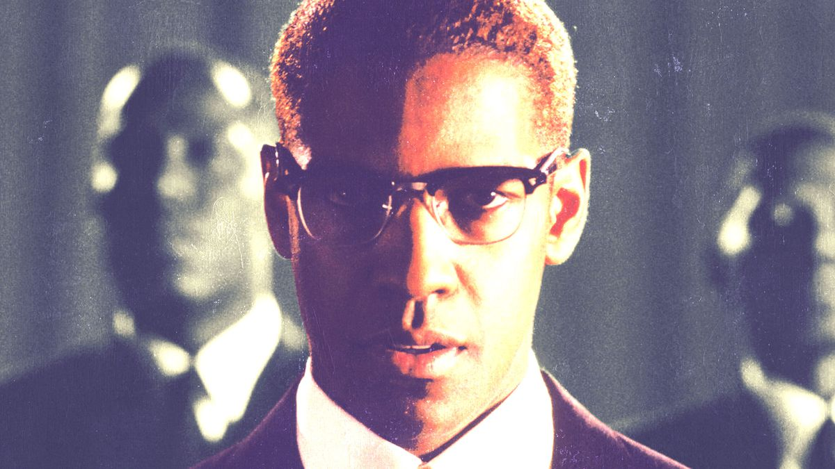 602a270371 How Spike Lee and Denzel Washington Turned  Malcolm X  Into a Hollywood Epic