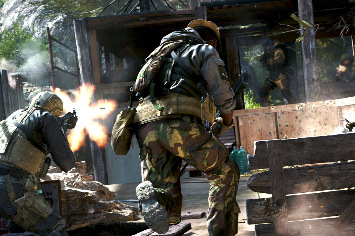 Call Of Duty Modern Warfare S Newest Mode Is Also Its Best Polygon
