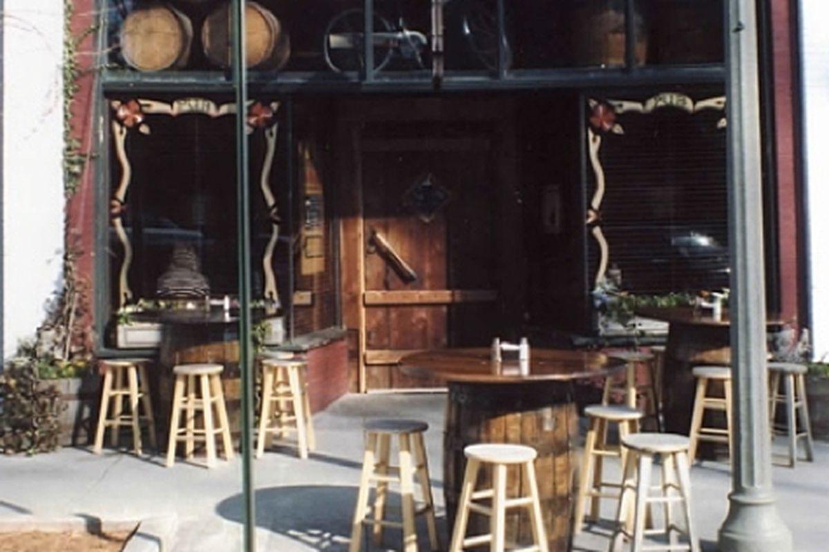 The patio at Brick Store Pub.