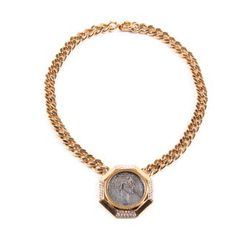 1970's Ciner coin necklace, $325.00
