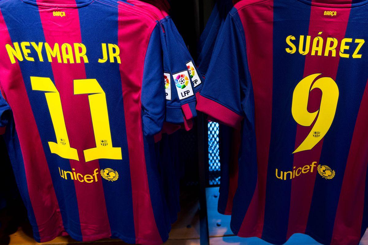 Luis Suarez Barcelona Shirts on Sale