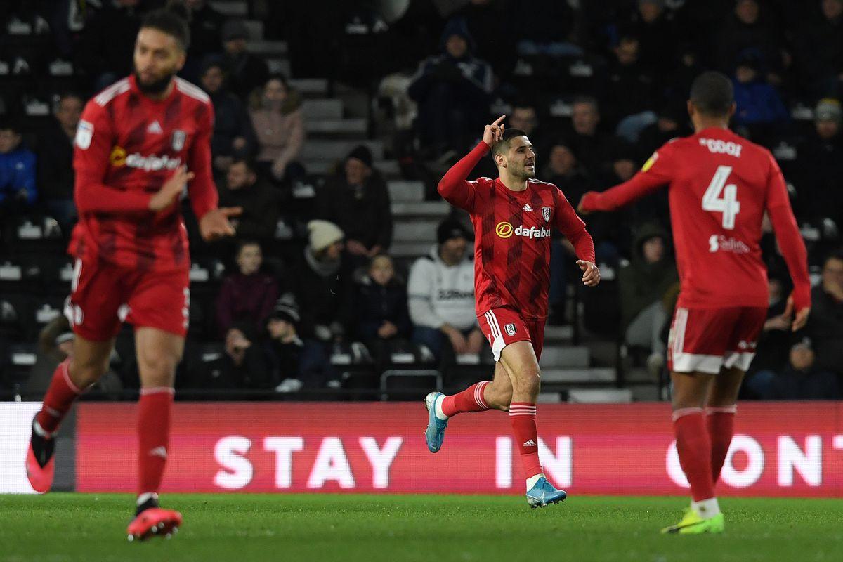 Derby County v Fulham - Sky Bet Championship
