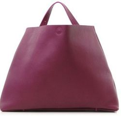 """The strap extends from shoulder bag to cross-body in a few simple steps. <a href=""""http://roztayger.com/product/purple_rivet_capital_a_bag_by_frrry"""">Rivet Capital A Bag by Frrry</a>, $358 at Roztayger."""