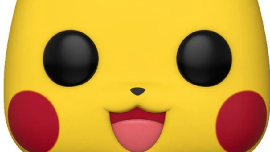 The Pikachu Funko Pop has no light in its eyes, and it's distressing on