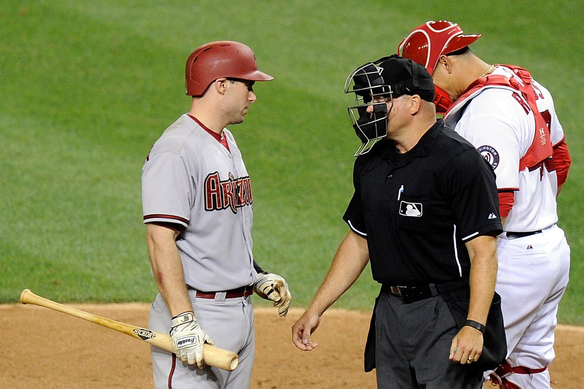 When Paul Goldschmidt says anything to you, you got the call wrong.