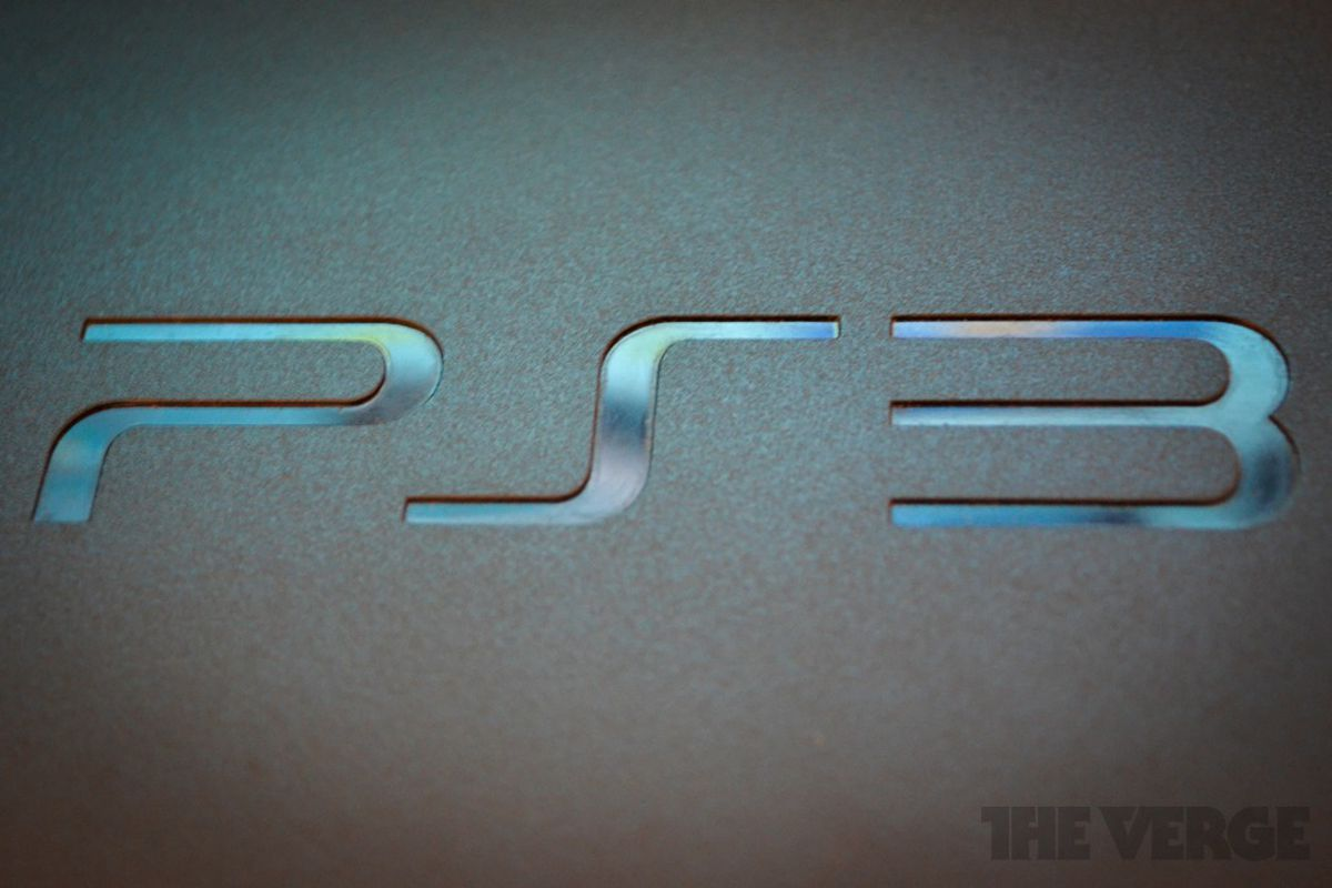 PS3 slim logo