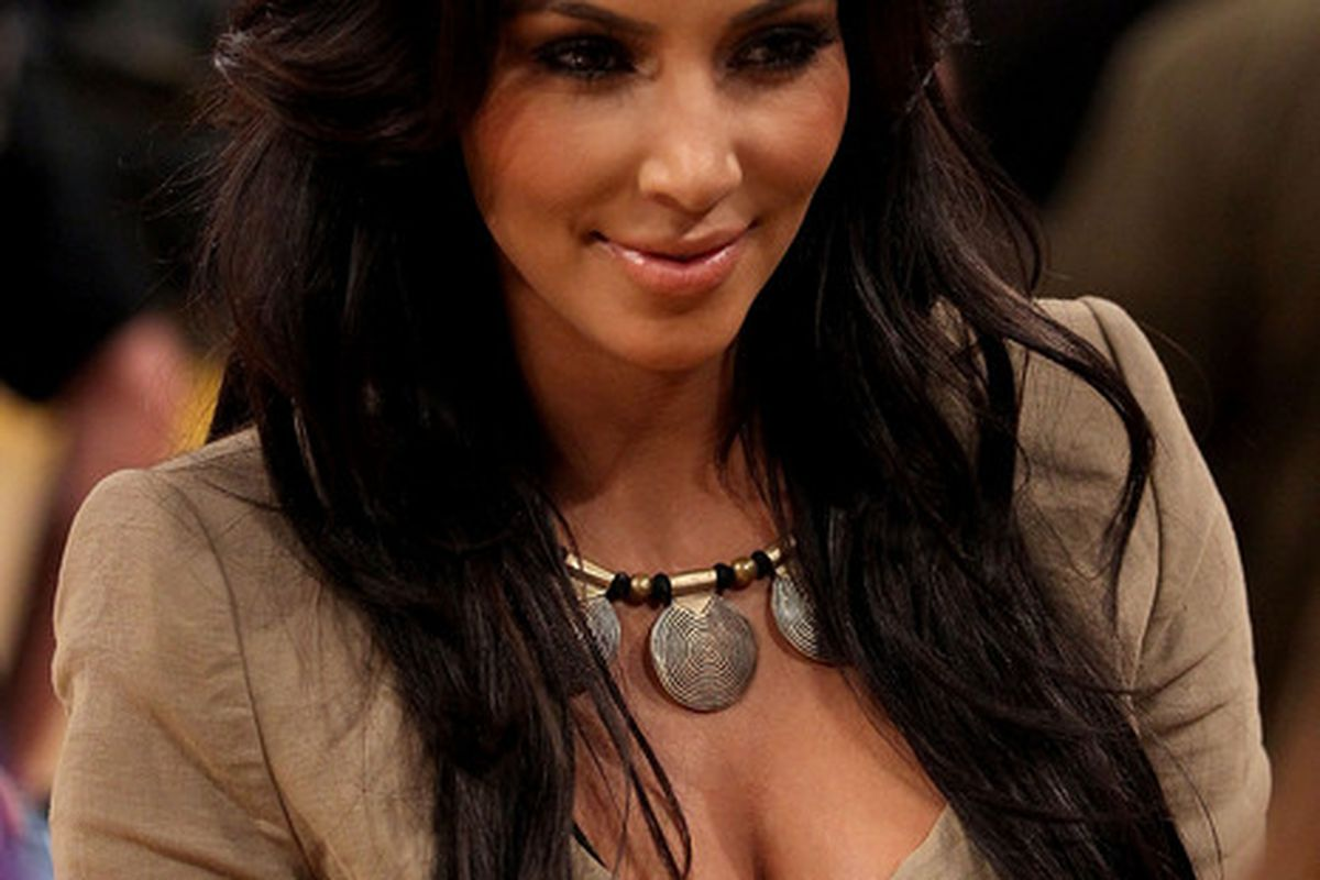 Kim Kardashian got married. This is big news, and Sugar Ray Leonard knows all about it. (Photo by Christian Petersen/Getty Images) (Photo by Christian Petersen/Getty Images)
