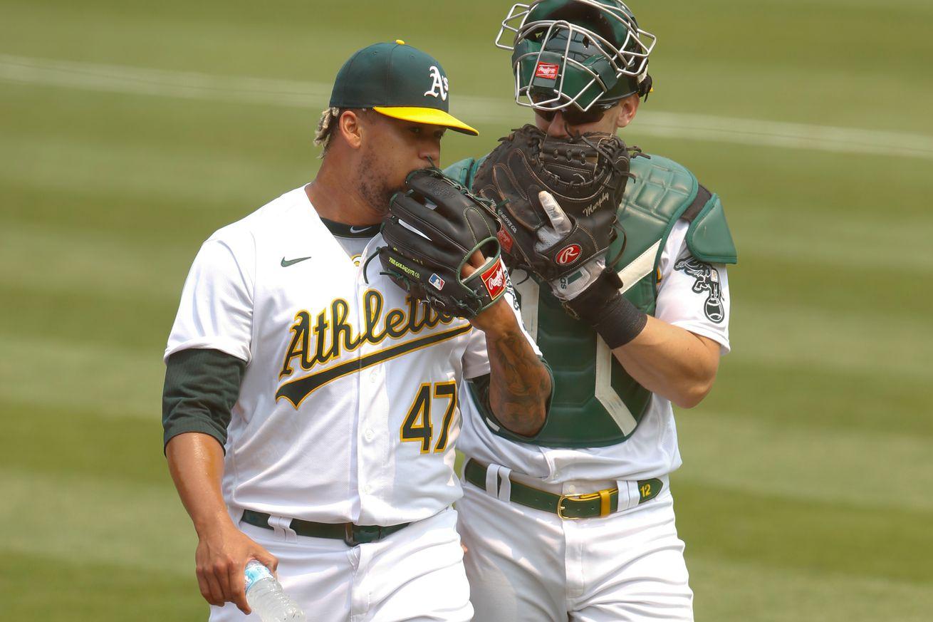 Los Angeles Angels v Oakland Athletics