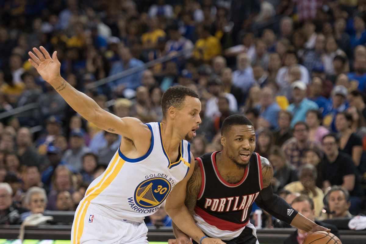0ede9f56b0c 2017 NBA Playoffs  Position by position breakdown for Warriors vs. Trail  Blazers