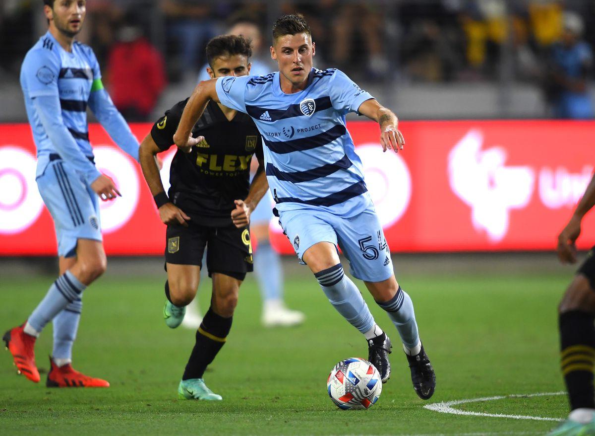 MLS: Sporting Kansas City at Los Angeles FC