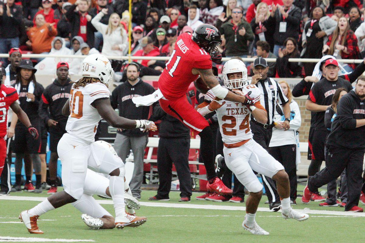 NCAA Football: Texas at Texas Tech