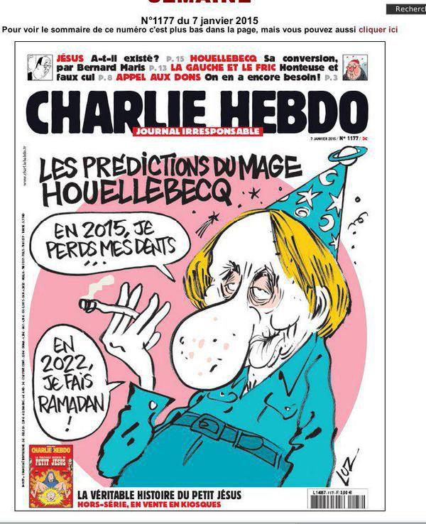 charlie hebdo cartoon that caused attack