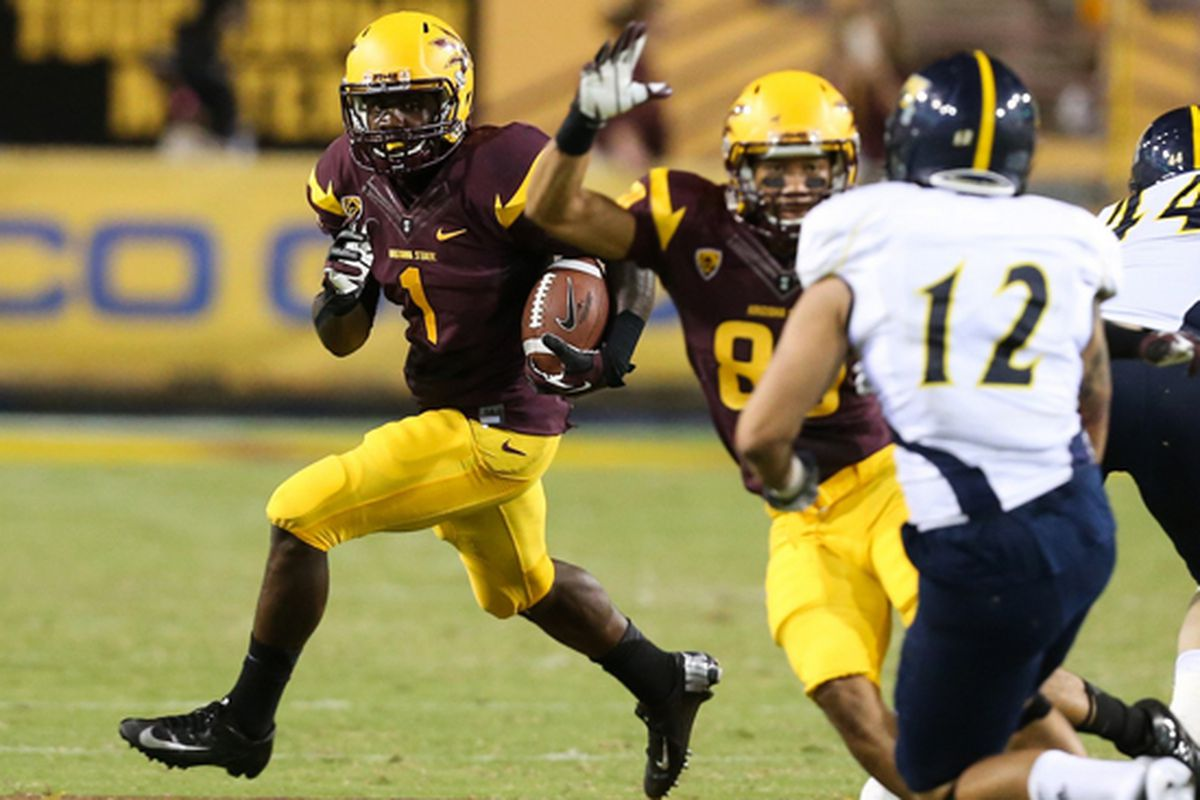 Marion Grice in action (Photo: ASU)
