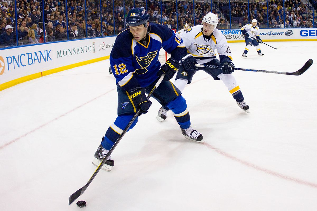Scooter played 30 games this season for St. Louis.