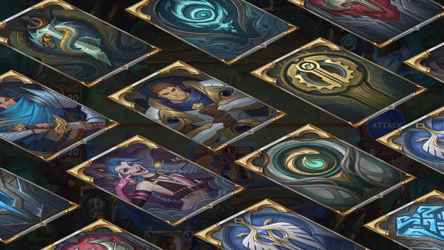 Legends of Runeterra card backs