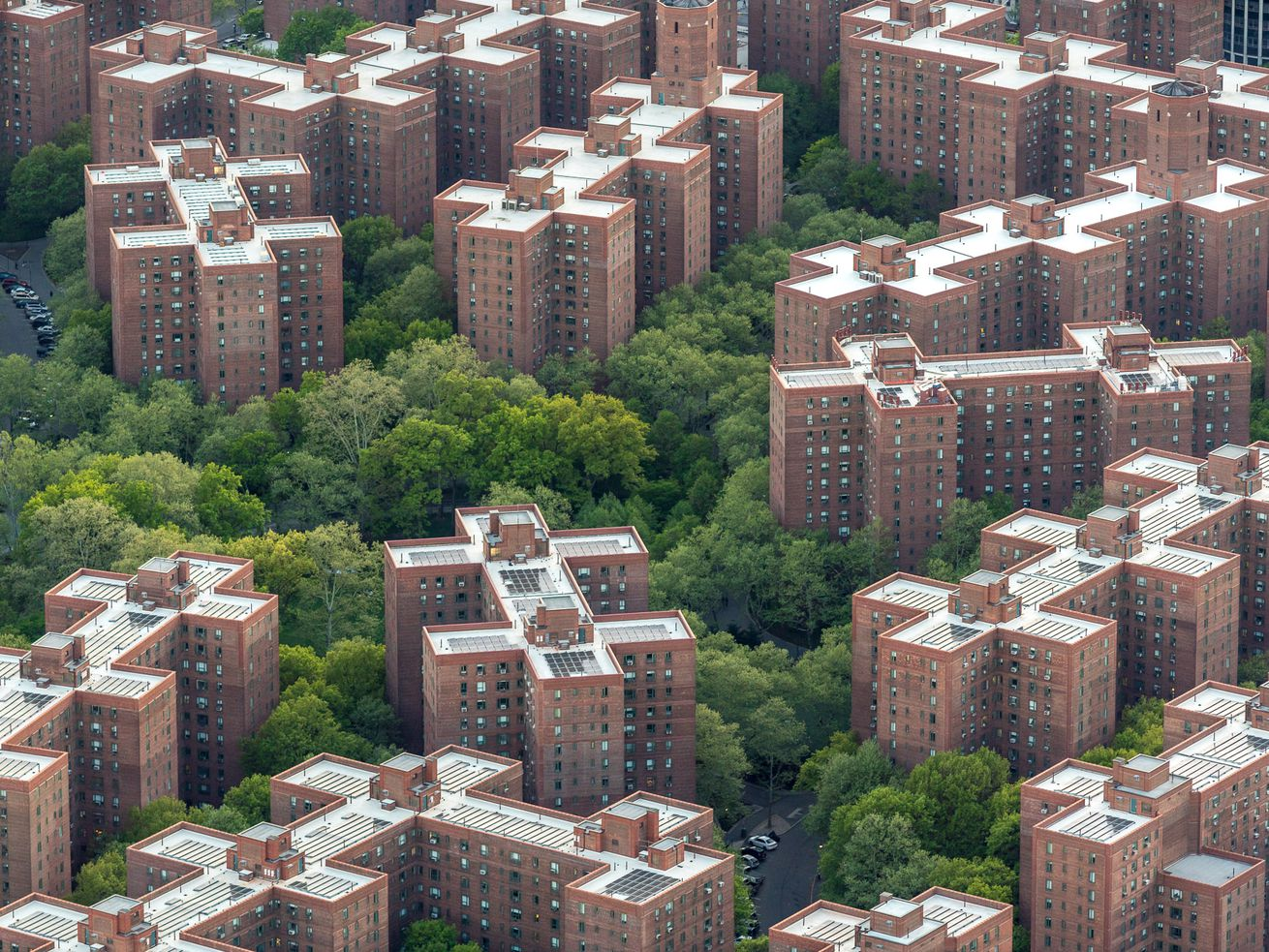 The Stuyvesant Town complex still has thousands of rent-stabilized apartments.