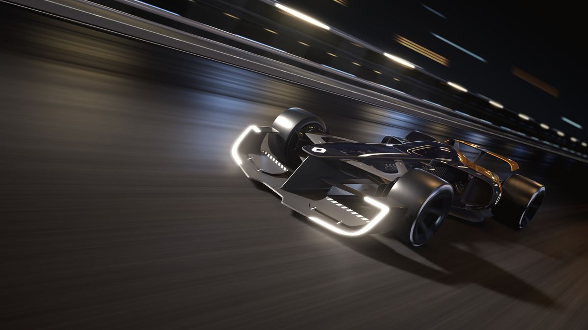 Renault's R.S. 2027 concept is an upsettingly realistic take on the future  of F1