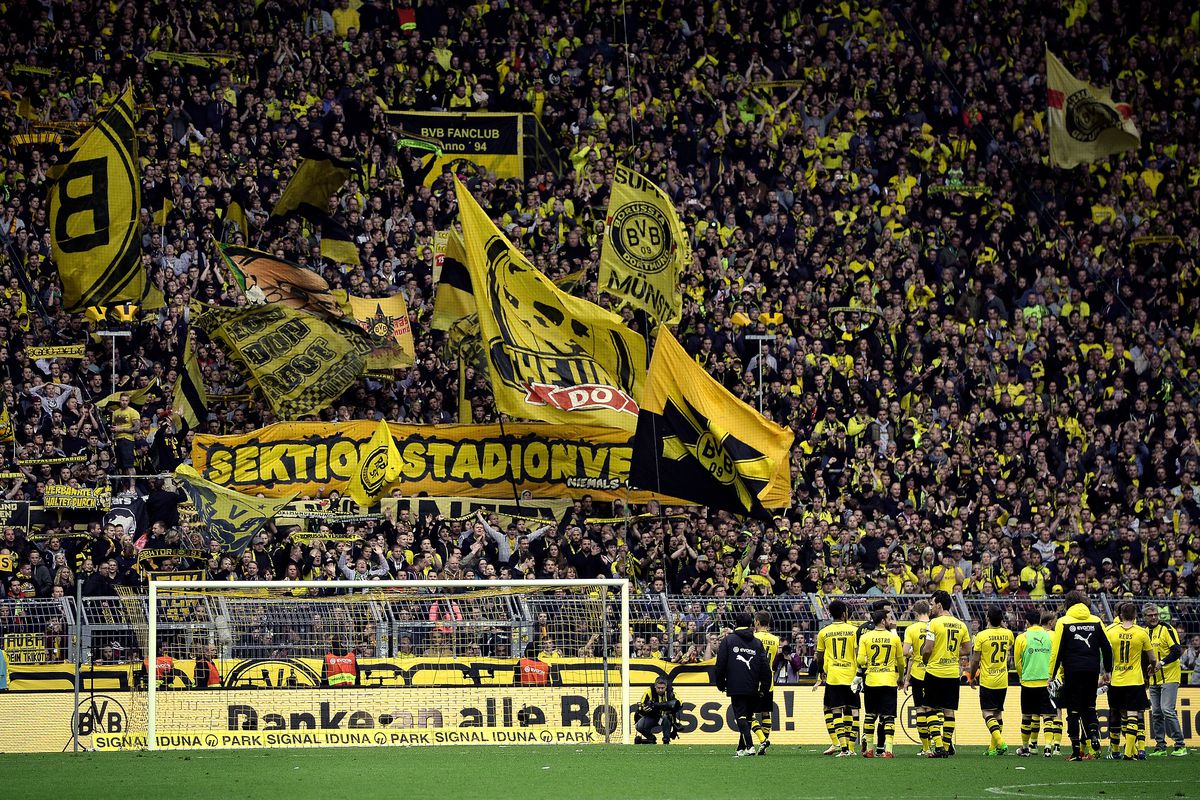 The Yellow Wall is ready