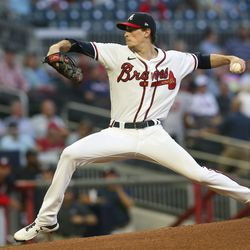 Max Fried, Braves starting pitcher on Sunday