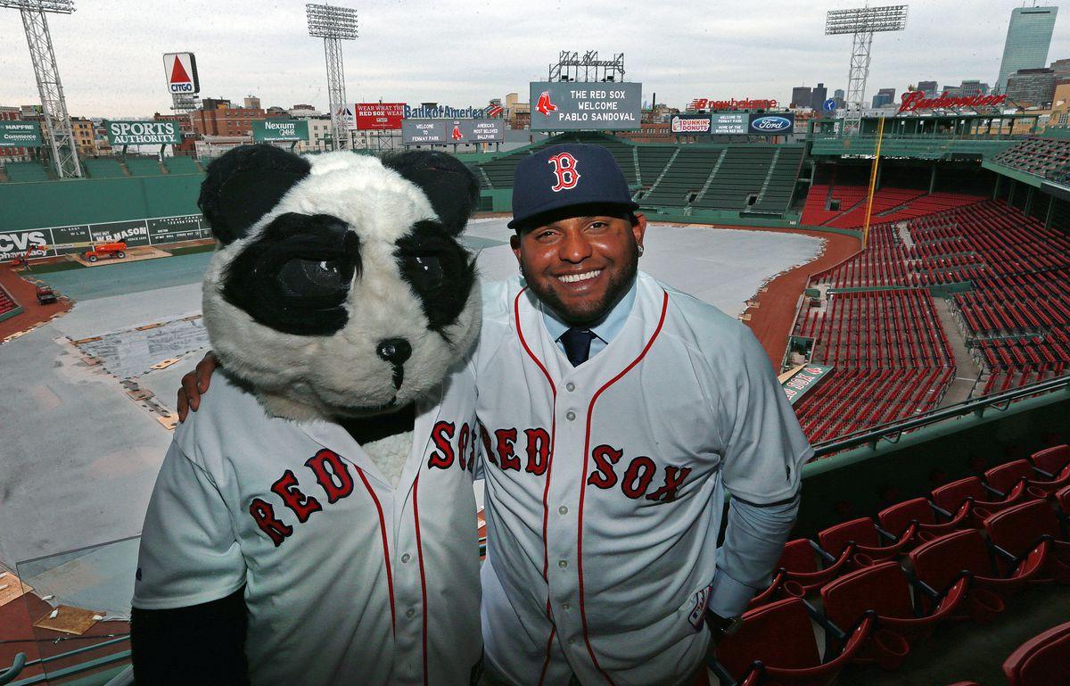 Red Sox Bring Pablo Sandoval On Board