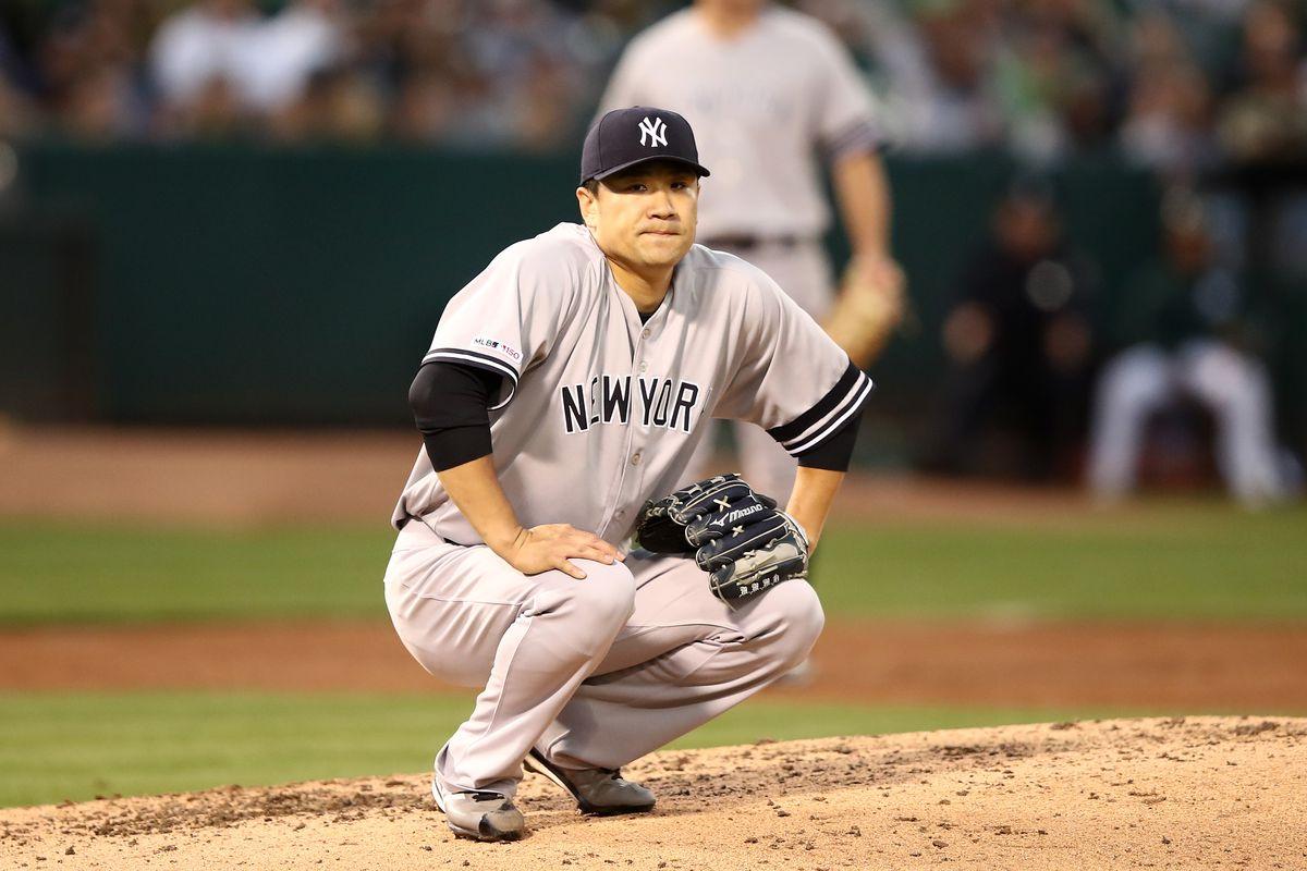 77c59adb Yankees Highlights: Masahiro Tanaka's miserable start ends in A's ...