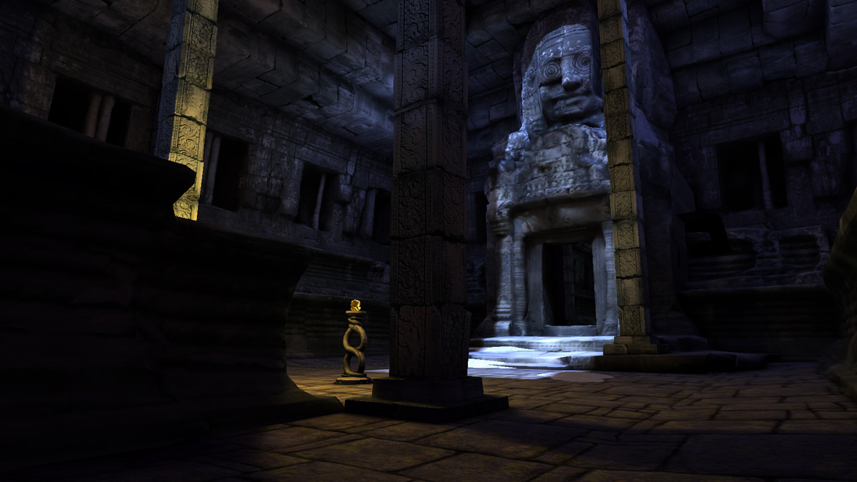 Temple Run VR is an often terrifying first try at bringing a