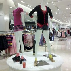 Being a mannequin is thirsty work!