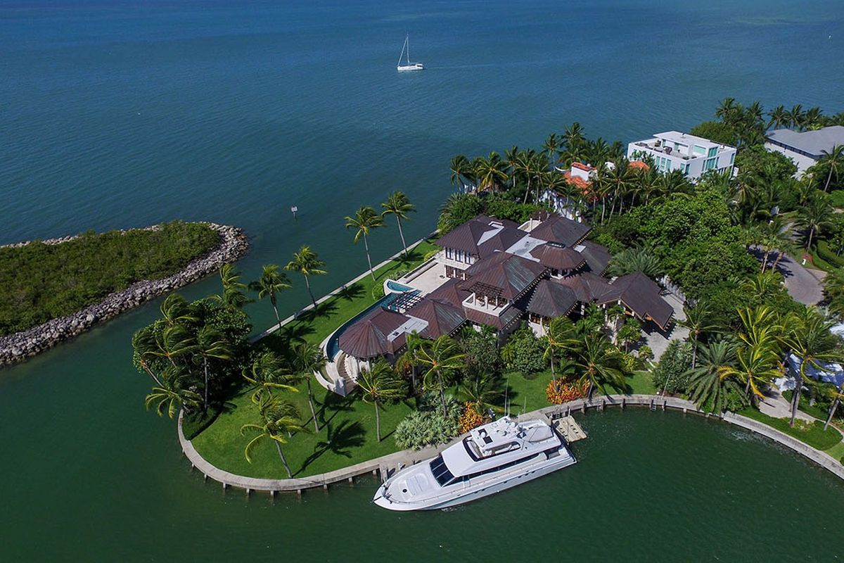 Tour The 39m Miami Vice Home That Just Listed Curbed