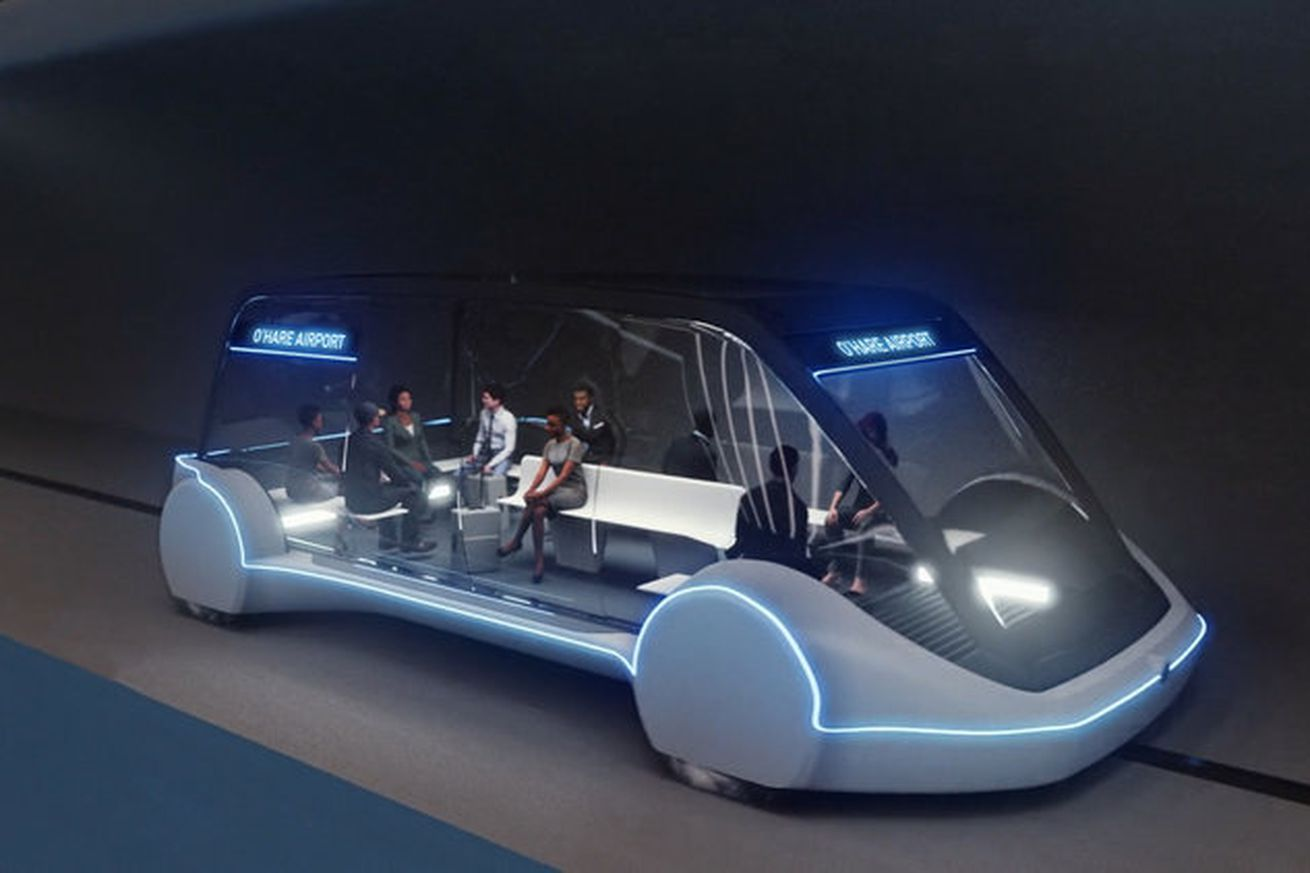 elon musk s boring company approved to build high speed chicago transit link