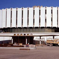 Ogden Utah Temple construction.
