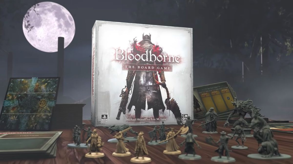 Concept art of Bloodborne: The Board Game