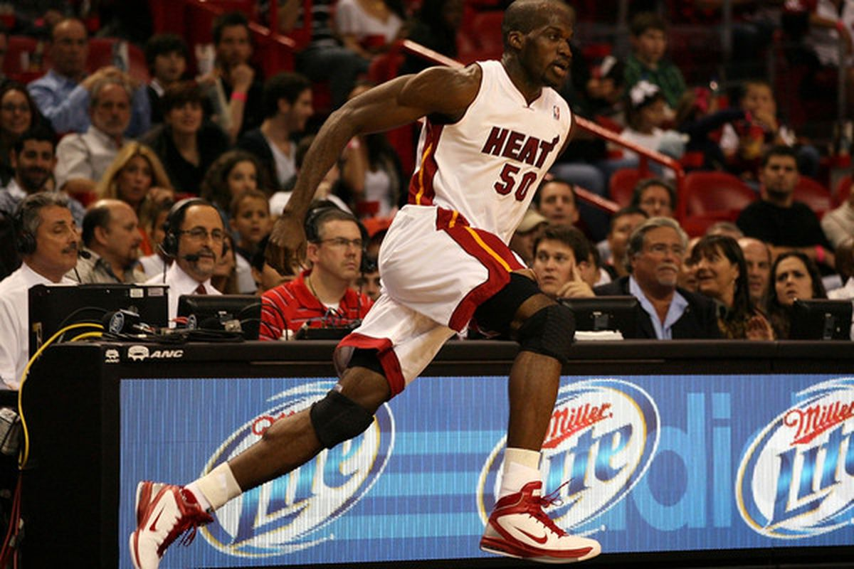 It's nice to see the hard-working Joel Anthony back for the Heat.