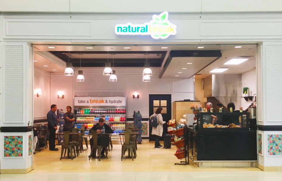A Health Food Restaurant Called Natural Break Recently Opened In The North Terminal Courtesy Of Dtw