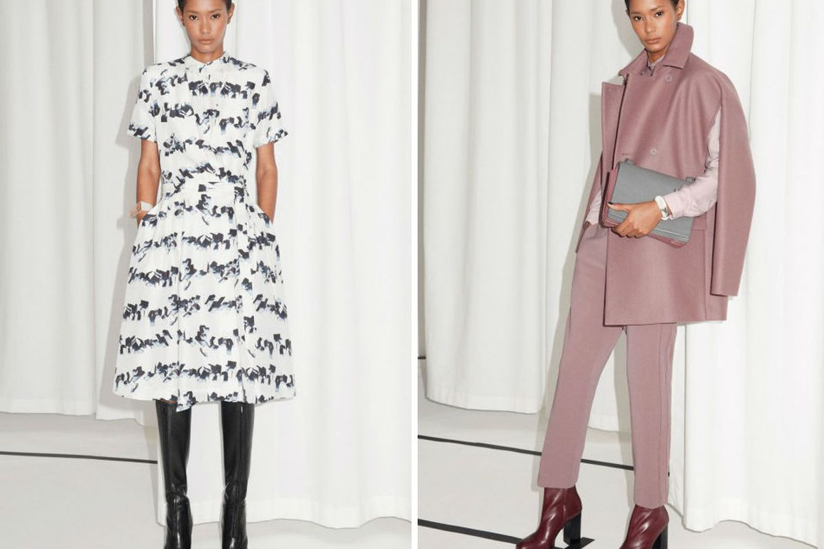 &OtherStories Fall 2014. Images via Marie Claire UK.