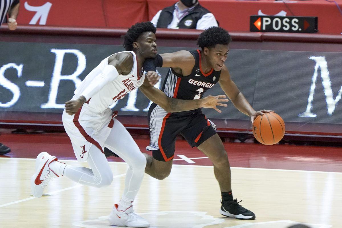 NCAA Basketball: Georgia at Alabama