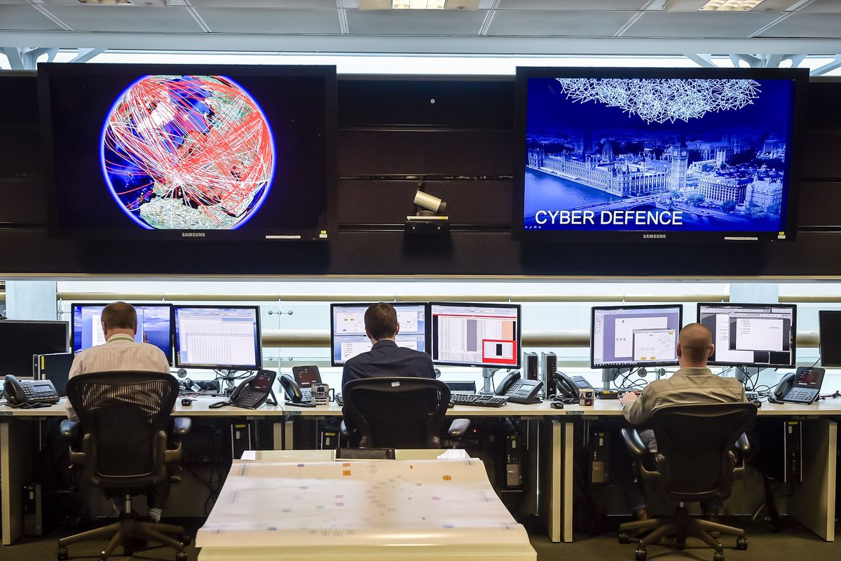 The Chancellor Speaks Ahead Of The Spending Review At GCHQ