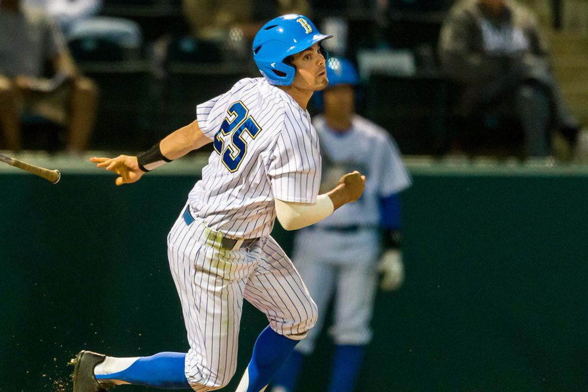 Daniel Amaral had two hits for the Bruins in a losing effort