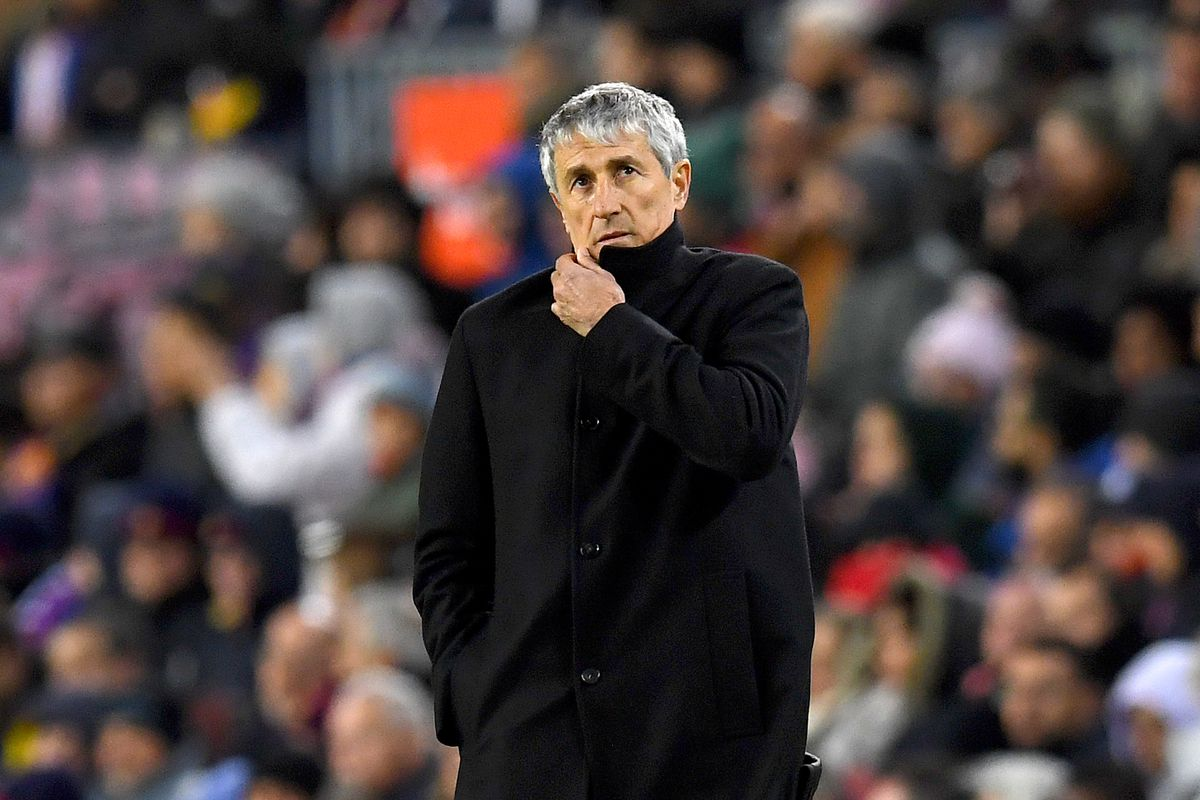 says Setien did Quique good 'a  Barcelona of things lot