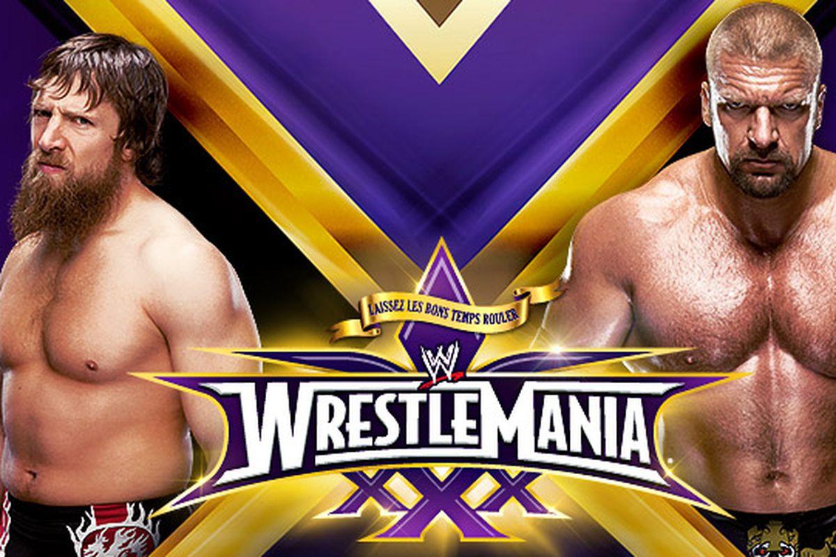 WrestleMania 30: Daniel Bryan vs. Triple H official; Bryan ...