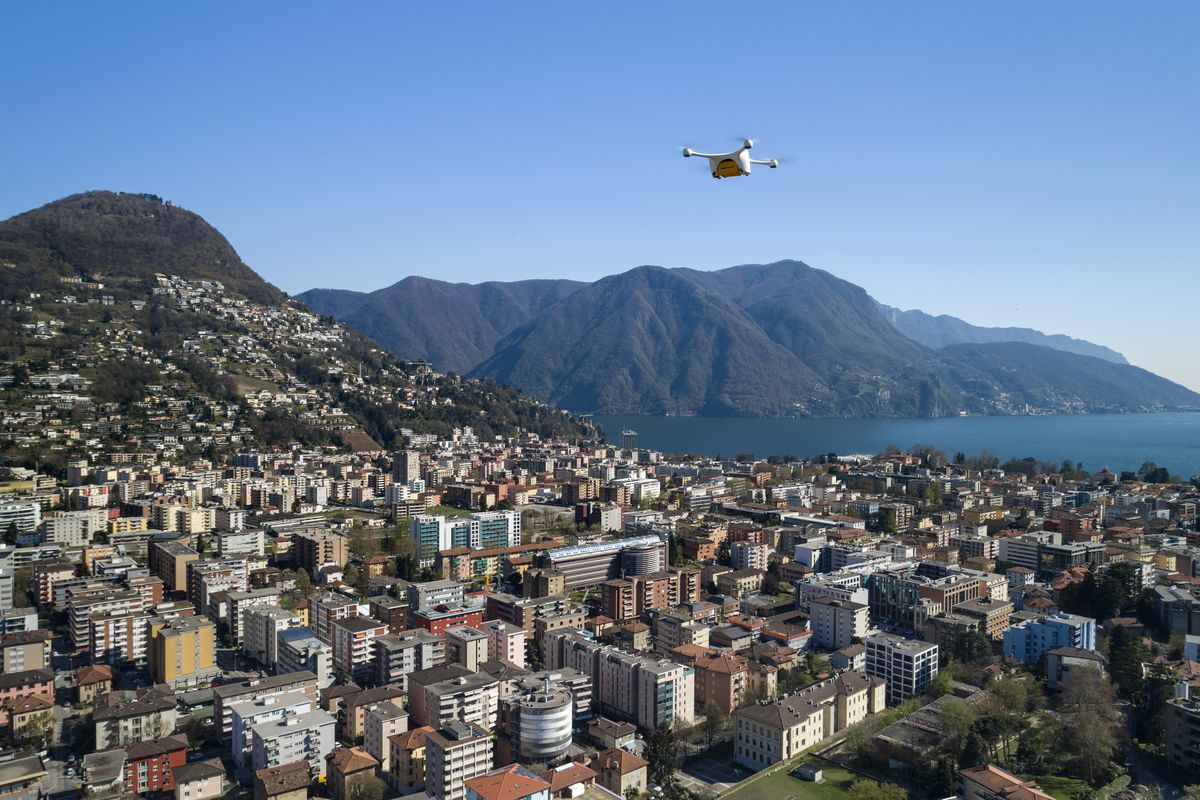 The Swiss Postal Service Is Using Autonomous Drones To Fly Lab