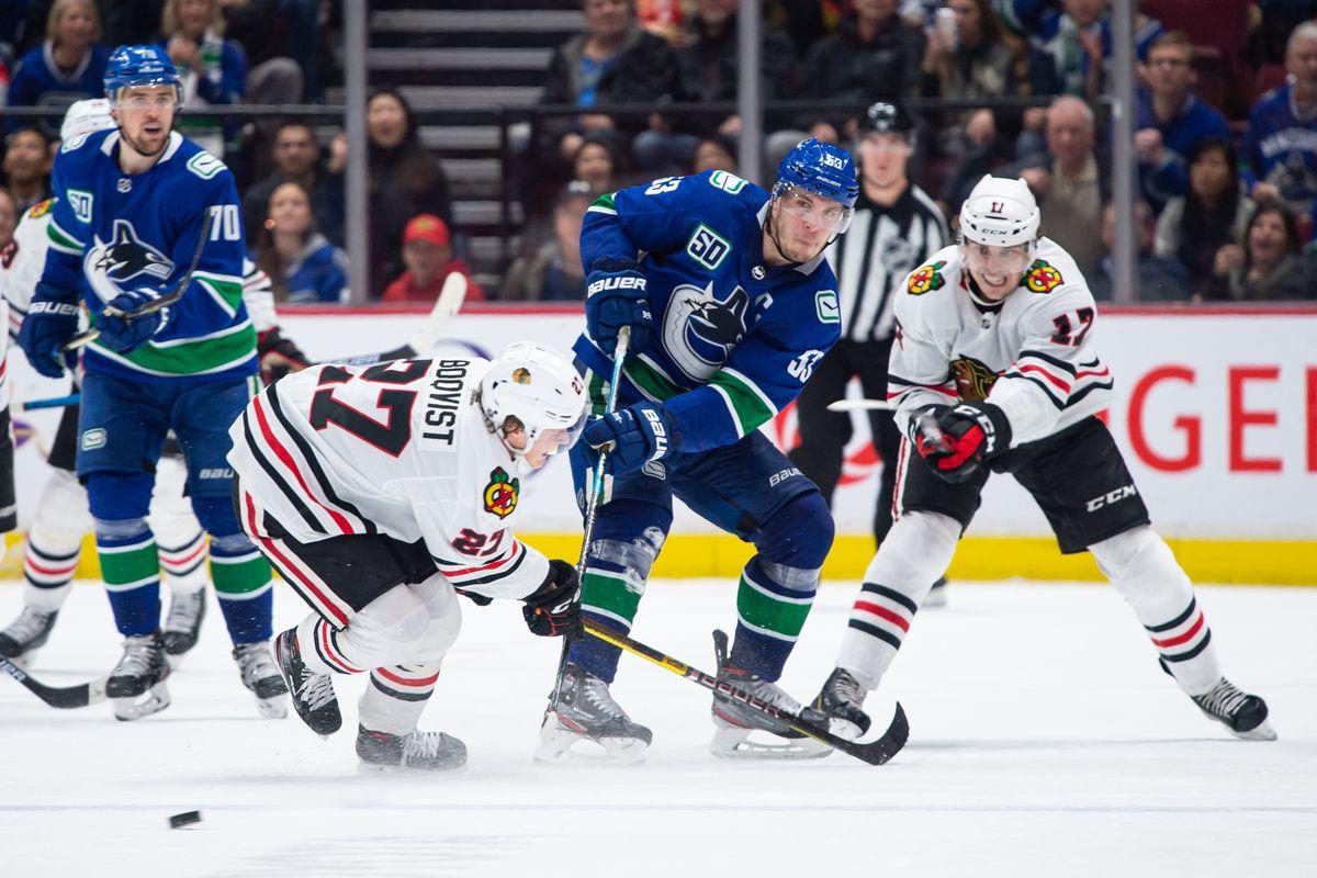 NHL: JAN 02 Blackhawks at Canucks