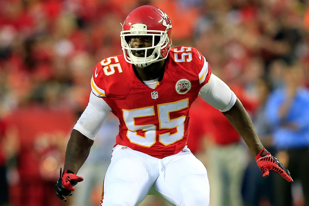 Chiefs Dee Ford responds to that play where he ran away from the