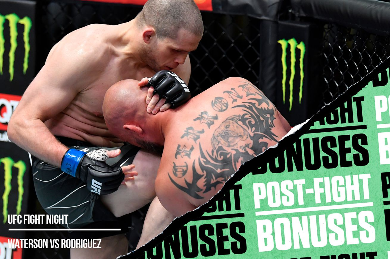 <label><a href='https://www.mvpboxing.com/news/mma/1620612583/UFC-Vegas-26-post-fight-bonuses-Morono-stops?ref=headlines' class='headline_anchor news_link'>UFC Vegas 26 post-fight bonuses: Morono stops Cerrone in the first</a></label><br />Alex Morono vs. Donald Cerrone | Chris Unger/Zuffa LLC  Check out which fighters won performance b