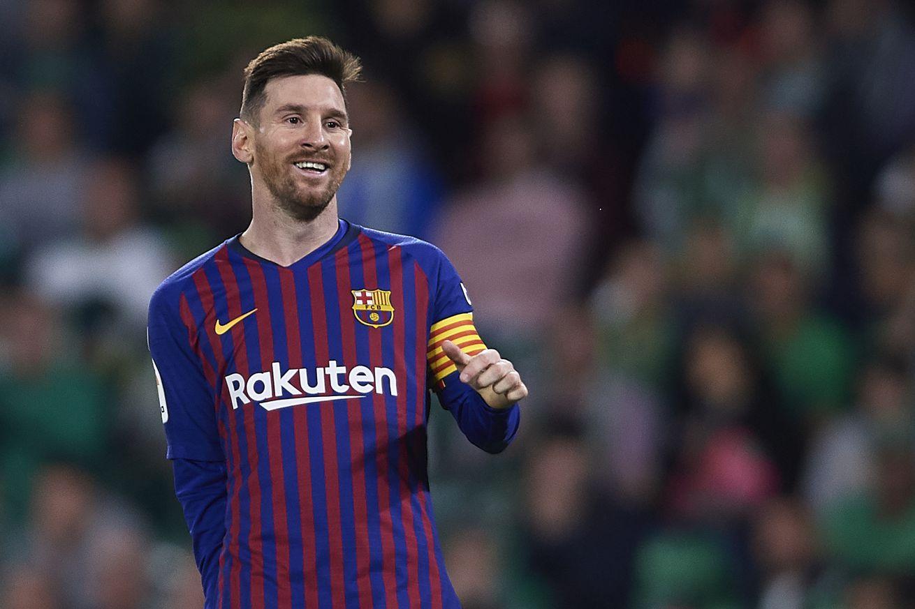 Messi?s goal against Betis nominated for Puskás Award