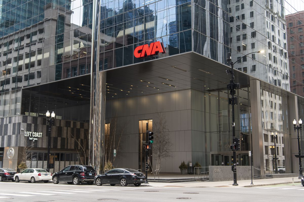 The CNA office building at 151 N. Franklin St. in The Loop,