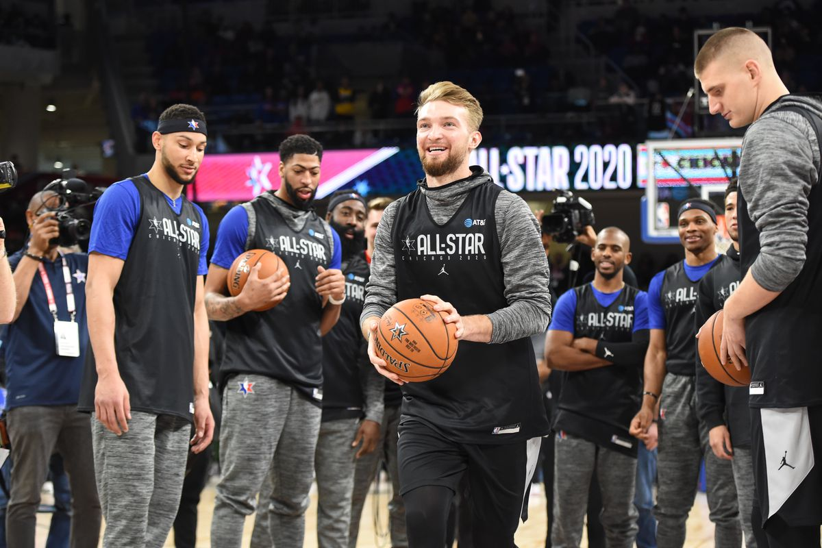 2020 NBA All-Star - Practice and Media Availability presented by AT&T