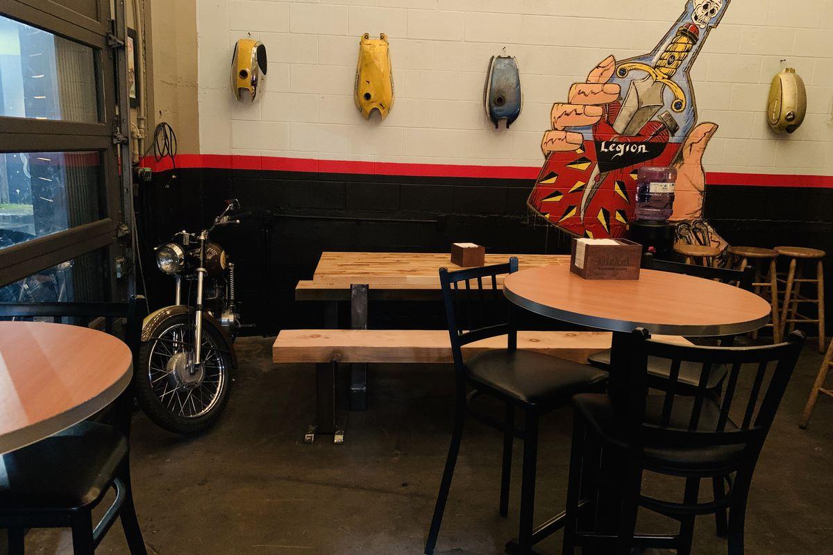 Legion Motorcycle Company and Bar