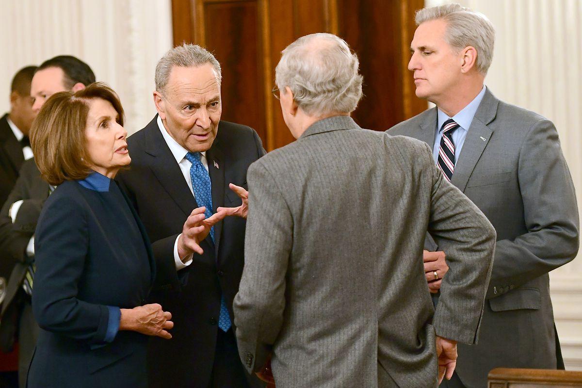 Trump Hosts a Congressional Leadership Reception